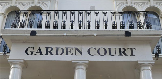 GARDEN COURT HOTEL Westminster London location